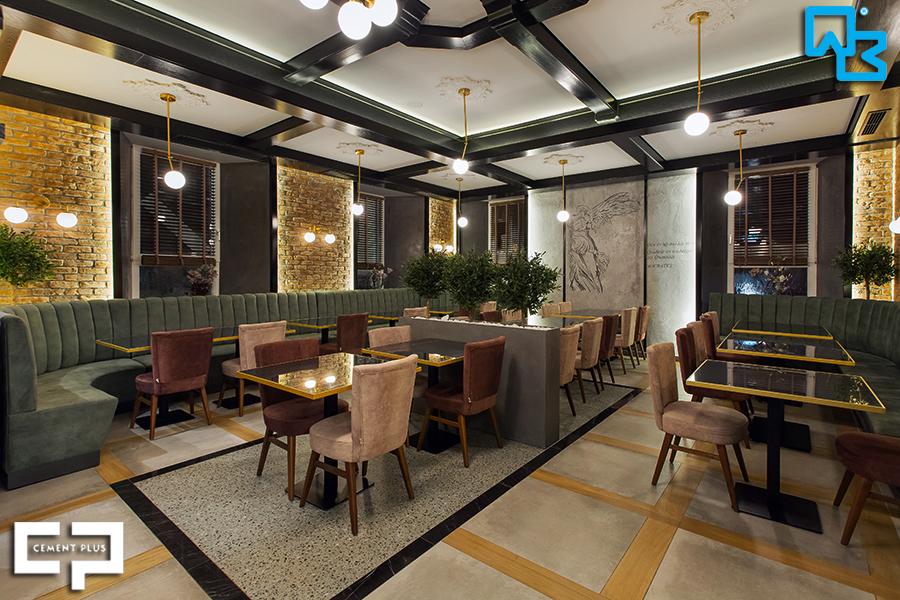 Νέο εστιατόριο στη Γερμανία με τα προϊόντα της About Beton/Cement Plus!